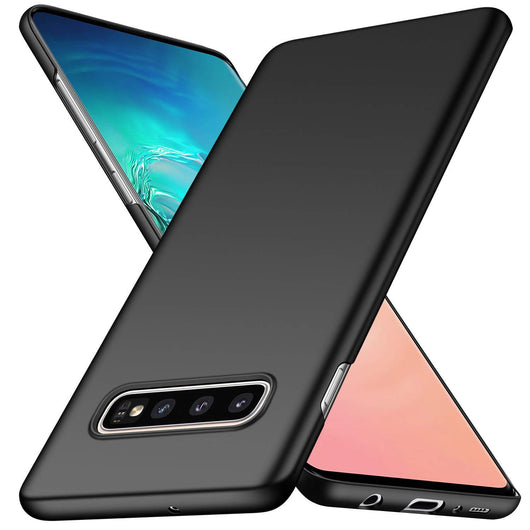 Samsung Galaxy S10 Case Ultra Slim Matte Black - That Gadget UK