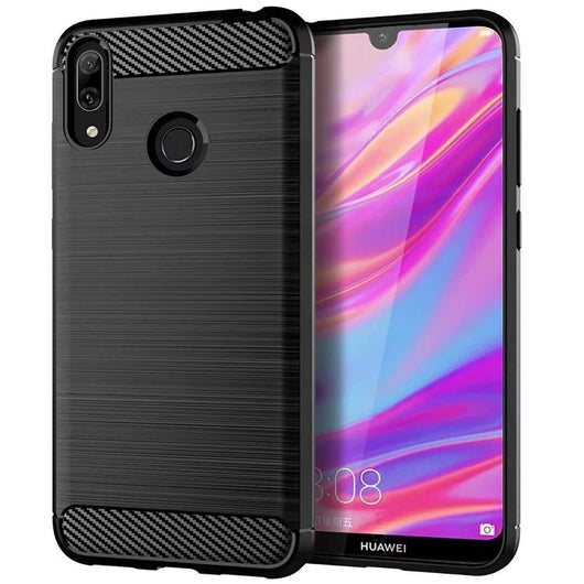 Samsung Galaxy A50 Case Carbon Fibre Black - That Gadget UK