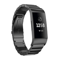 Fitbit Charge 3 Premium Stainless Steel Band Strap - That Gadget UK