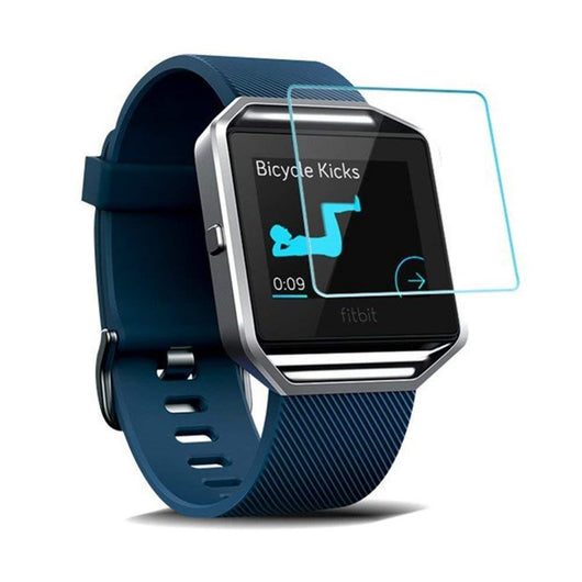 Fitbit Blaze Tempered Glass Screen Protector Guard - That Gadget UK