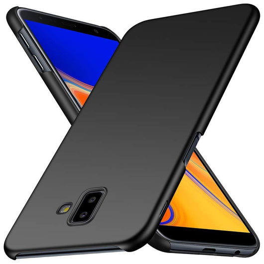 Samsung Galaxy J6+ Case Ultra Slim Matte Black - That Gadget UK