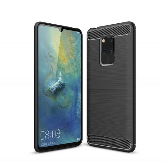 Huawei Mate 20 X Case Carbon Fibre Black - That Gadget UK
