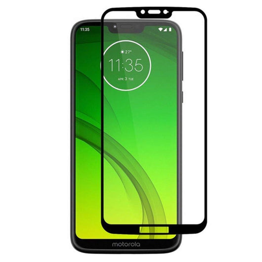 Motorola Moto G7 Play Tempered Glass Screen Protector Full Coverage - That Gadget UK