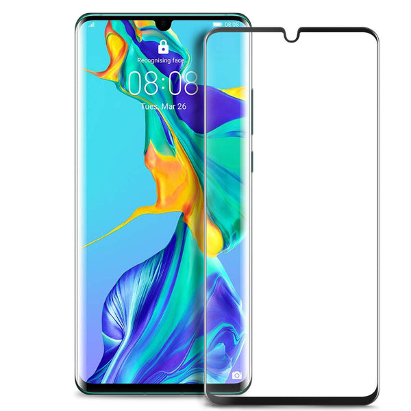 Huawei P30 Pro Tempered Glass Screen Protector Full Coverage - That Gadget UK
