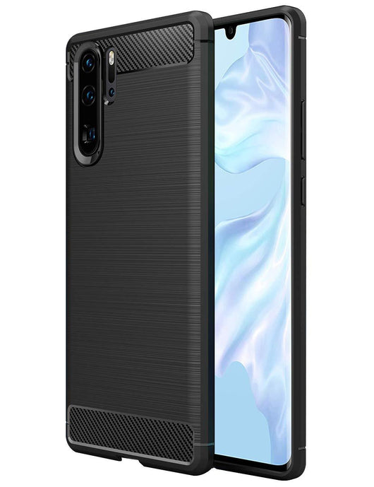 Huawei P30 Pro Case Carbon Fibre Black - That Gadget UK