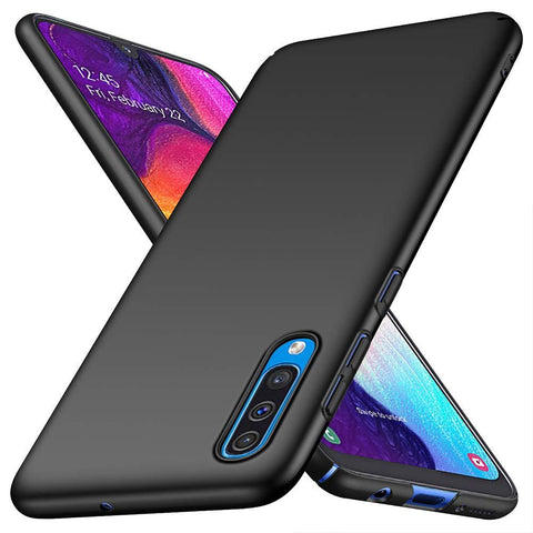 Samsung Galaxy A50 Case Ultra Slim Matte Black - That Gadget UK