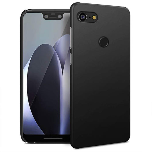 Google Pixel 3 XL Case Ultra Slim Matte Black - That Gadget UK