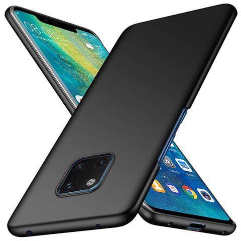 Huawei Mate 20 Case Ultra Slim Matte Black - That Gadget UK