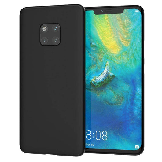 Huawei Mate 20 Pro Case Soft Gel Matte Black - That Gadget UK