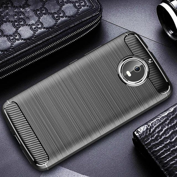 Carbon Fibre Brushed Shockproof Case - That Gadget UK