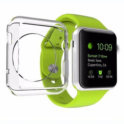 Apple Watch Clear Gel Case (Series 1 - 5) - That Gadget UK