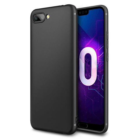 Huawei Honor 10 Case Soft Gel Matte Black - That Gadget UK