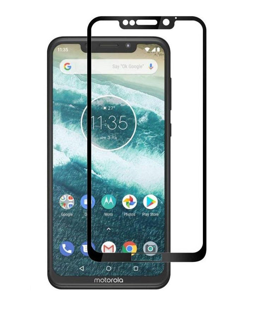 Motorola One Tempered Glass Screen Protector Full Coverage - That Gadget UK