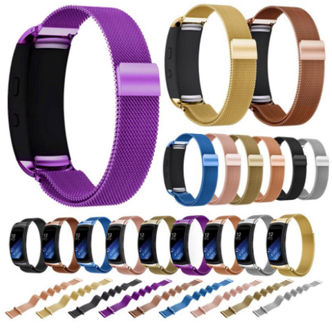 Samsung Gear Fit 2 Luxury Milanese Loop Band Strap