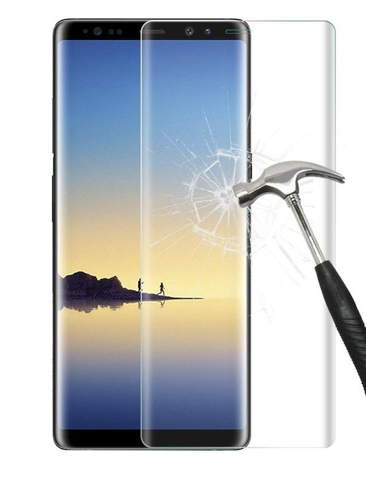 Samsung Galaxy Note 8 Full Coverage Tempered Glass Screen Protector - That Gadget UK