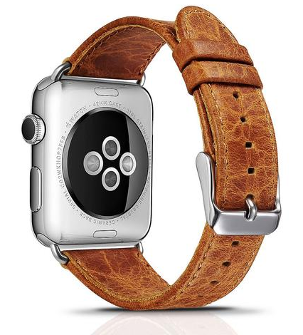 Apple Watch Artisan Leather Band (Series 1 - 5) - That Gadget UK