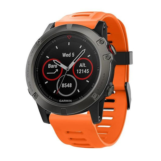 Garmin Fenix 3/3 HR/5X Sports Silicone Band Strap - That Gadget UK