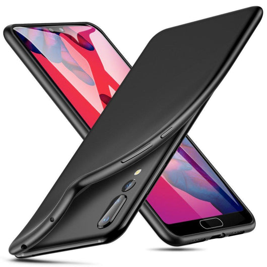 Huawei P20 Pro Case Soft Gel Matte Black - That Gadget UK
