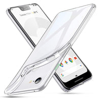 Google Pixel 3 XL Case Clear Gel - That Gadget UK