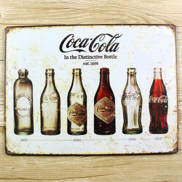 Coke Vintage Tin Sign - That Gadget UK