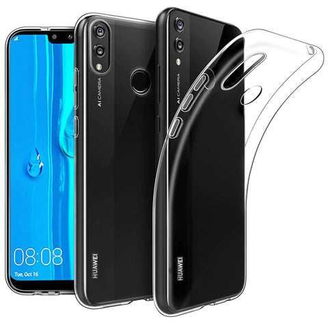 Huawei Y9 (2019) Case Clear Gel - That Gadget UK