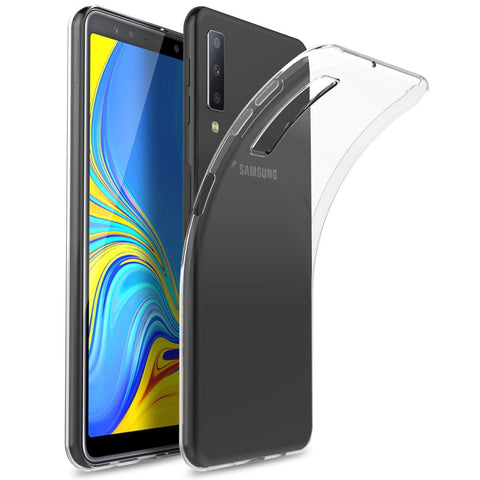 Samsung Galaxy A7 (2018) Case Clear Gel - That Gadget UK
