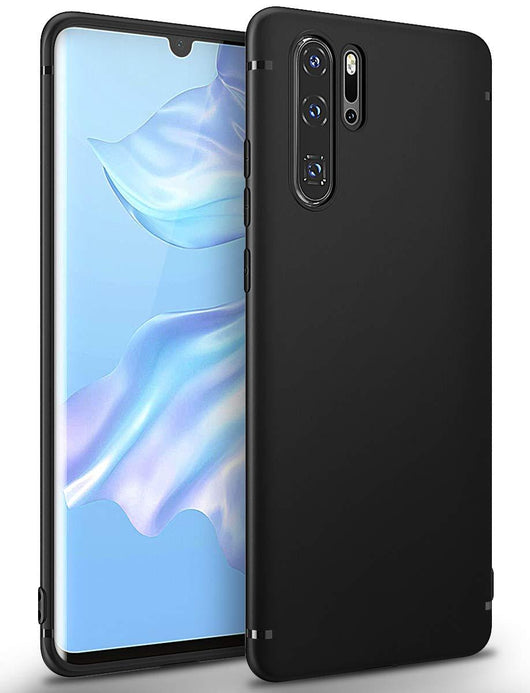 Huawei P30 Pro Case Ultra Slim Matte Black - That Gadget UK