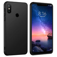 Xiaomi Redmi Note 6 Pro Case Soft Gel Matte Black
