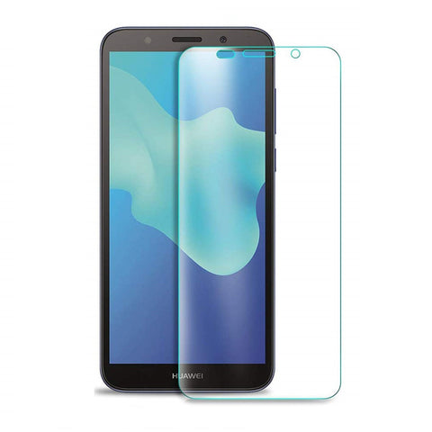 Huawei Y5 lite (2018) Tempered Glass Screen Protector Guard (Case Friendly) - That Gadget UK