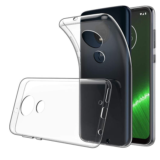 Motorola Moto G7 Plus Case Clear Gel - That Gadget UK