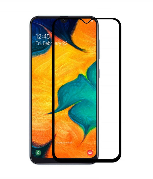 Samsung Galaxy A30 Tempered Glass Screen Protector Full Coverage - That Gadget UK