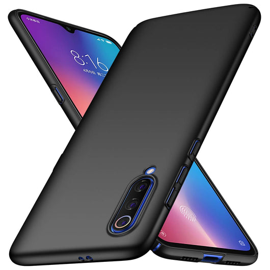 TGPro Xiaomi Mi 9 Case Ultra Slim Matte Black
