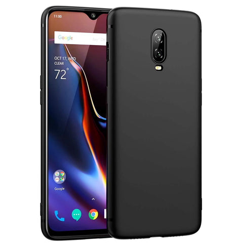 OnePlus 6T Case Ultra Slim Matte Black - That Gadget UK