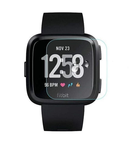 Fitbit Versa Tempered Glass Screen Protector Guard - That Gadget UK