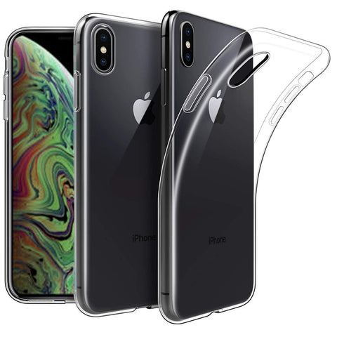 "Apple iPhone XS Max (6.5"") Case Clear Gel - That Gadget UK"