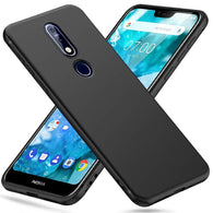 Nokia 7.1 Case Soft Gel Matte Black - That Gadget UK