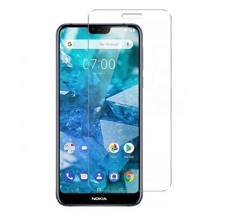 Nokia 7.1 Tempered Glass Screen Protector Guard (Case Friendly) - That Gadget UK
