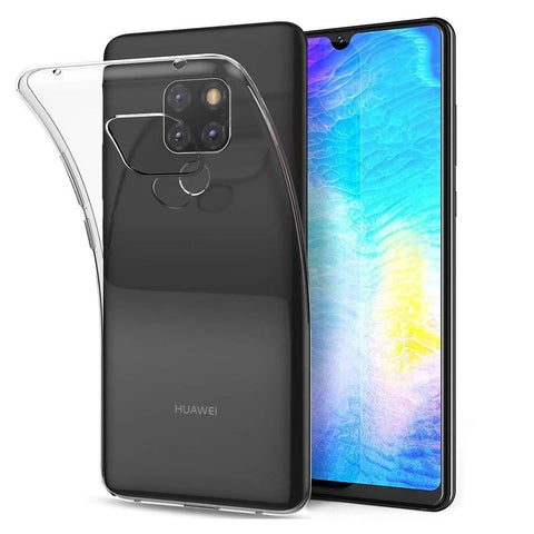 Huawei Mate 20 X Case Clear Gel - That Gadget UK