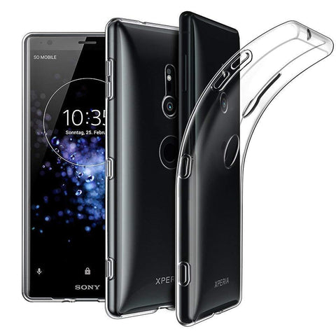 TGPro Sony Xperia XZ3 Case Clear Gel