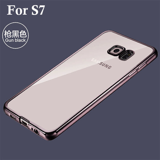Ultra Slim Transparent Cover For Samsung Galaxy