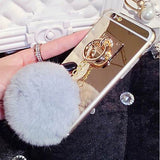 Mirror Cover For Iphone 5 / 6 Models