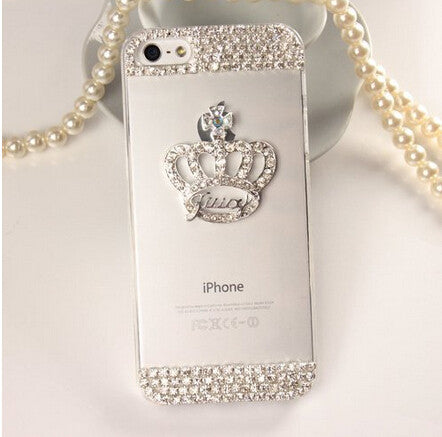Crystal Phone case for iPhone Models