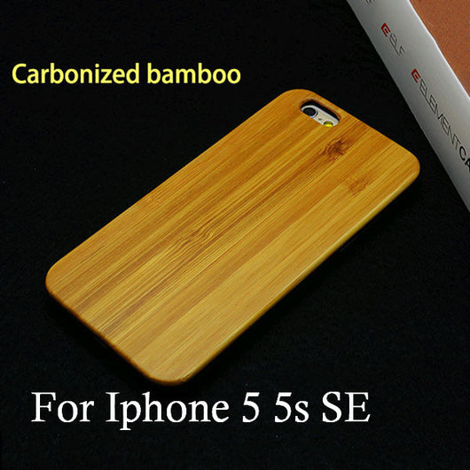 Genuine Rosewood Case For iPhone 5 / 6 / 7