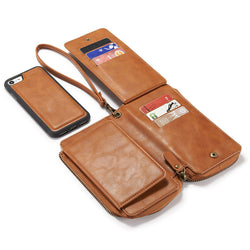 Leather Flip for iPhone 7 6 6S Plus