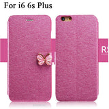 Butterfly Flip Leather iPhone Case
