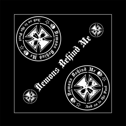 High-Performance UV Vinyl Sticker (1) - White Maltese Cross