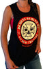 Women's Never Broken Black Festival Tank Top