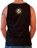 Men's Black Never Broken Concert Tank