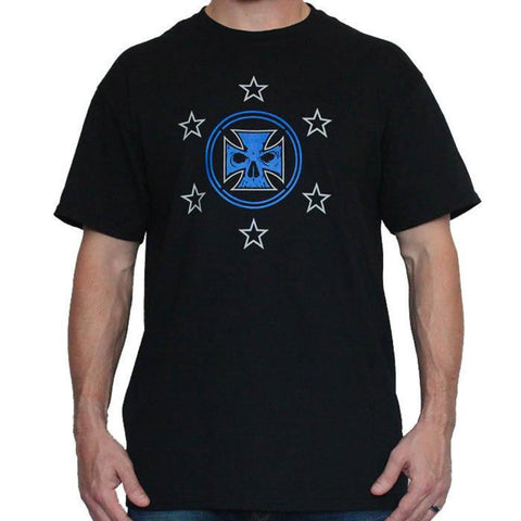 Helmet & Pistons Light-Weight T-Shirt (Black Frost)