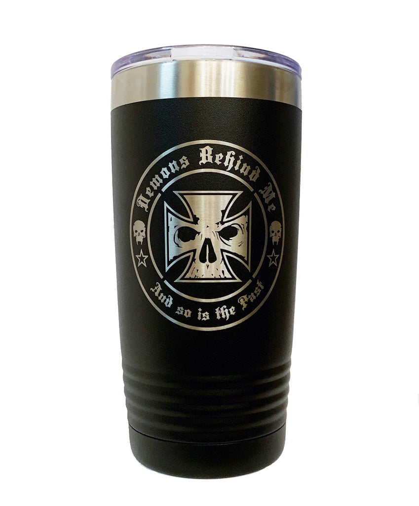 20 oz Stainless Steel Insulated Suregrip Tumbler | Double Logo | Laser Etched